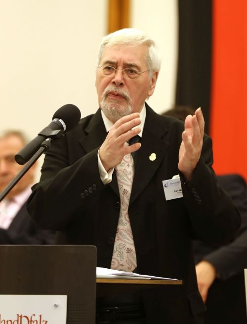 Präsident Karl Wolff bei seiner Begrüßung