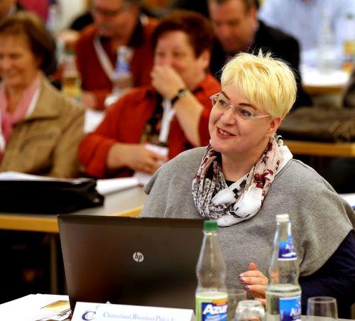 Geschäftsstellenleiterin Corinna Simmerkuß