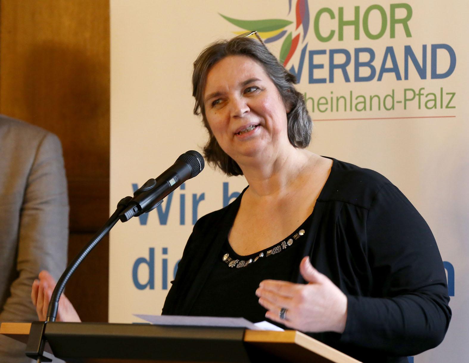 Christel Bieger wurde zur Vizepräsidentin gewählt