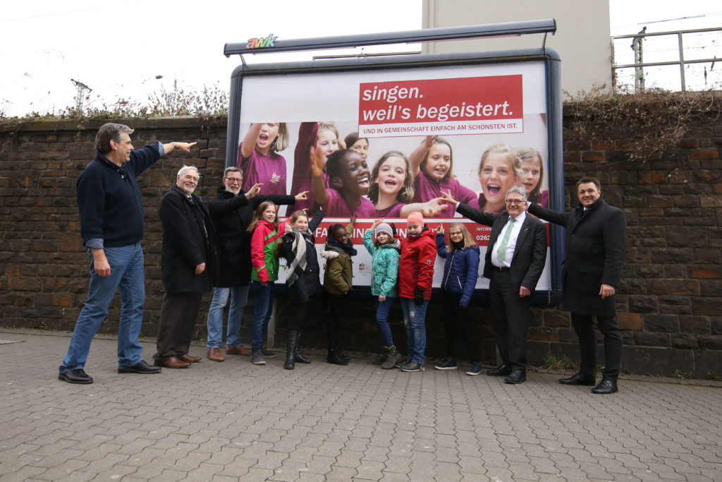"""Offizieller Kampagnenstart in Koblenz: """"RLP singt"""""""